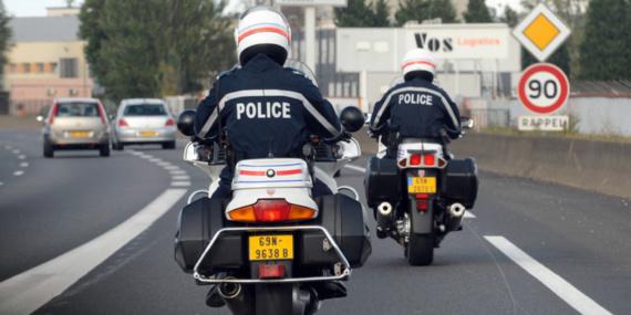 Une adolescente suicidaire sauvée in-extremis par un motard de la police du Havre
