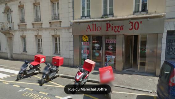 Évreux : un braqueur rafle la caisse et les tickets restaurant du marchand de pizzas