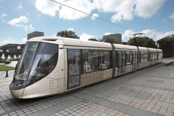 Photo d'illustration d'un tram au Havre