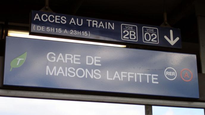Maisons-Laffitte : dépouillée de son téléphone dans le train par un adolescent armé d'un couteau
