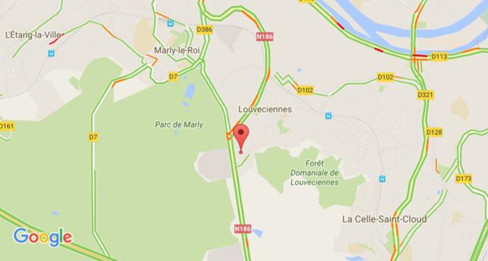 Le camion de l'Émir du Qatar reste bloqué dans un tunnel à Louveciennes : un blessé