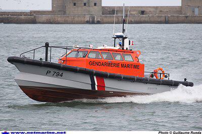 Une vedette de plaisance en difficulté dans le chenal de Rouen assistée par la gendarmerie