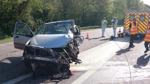 La jeune conductrice de la Ford Fiesta est décédée sous la violence du choc (Photo@DR)