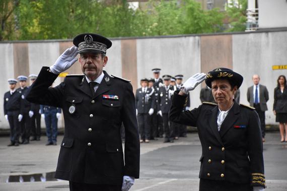 Seine-Maritime : des policiers honorés pour leur courage et dévouement