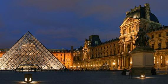 Le Musée du Louvre, à Paris