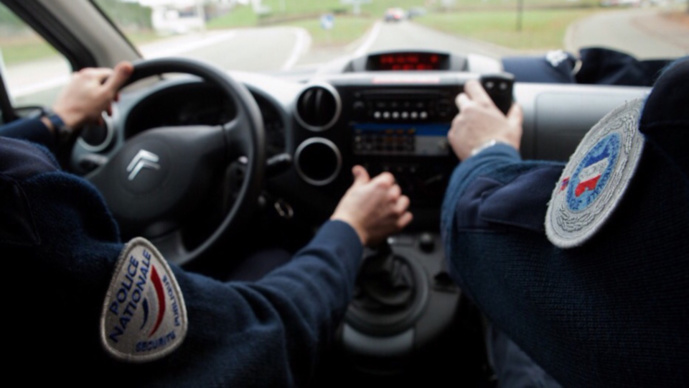Les policiers de la sûreté urbaine étaient de passage dans le secteur pour les besoins d'une enquête (illustration)
