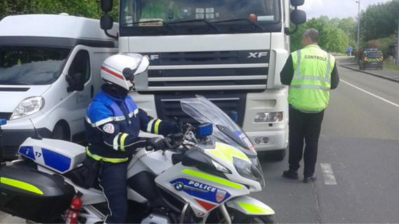 20 des infractions et délits ont été relevés à l'encontre de conducteurs étrangers (Photo@DR)