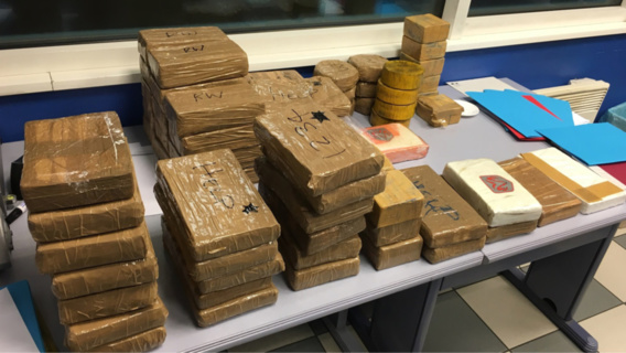 Près de 60 kg de cocaïne saisis dans un chargement de crèmes glacées par la douane de Calais