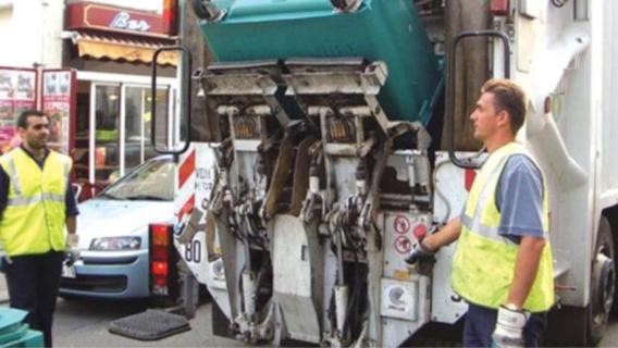 La collecte des ordures ménagères au Havre et à Sainte Adresse était bloquée depuis jeudi (illustration@Codah)