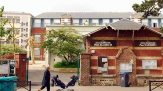 Les violences ont eu lieu devant les enfants de l'école Paul Éluard (illustration)