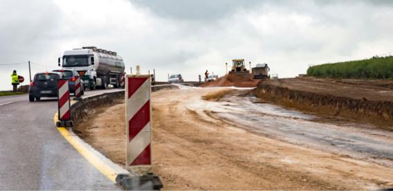 Côte de Corneville (Eure) : les travaux de rénovation et de sécurisation ont redémarré