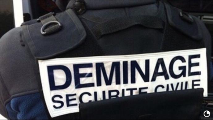 Les démineurs neutralisent une grenade découverte le long des voies ferrées en gare de Limay