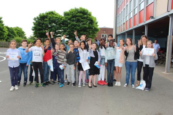Petits artistes de la mémoire : une école de Limay à nouveau primée