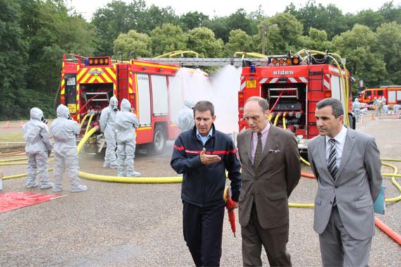 Accident chimique à Evreux : la préfecture de l'Eure a testé la réactivité des secours