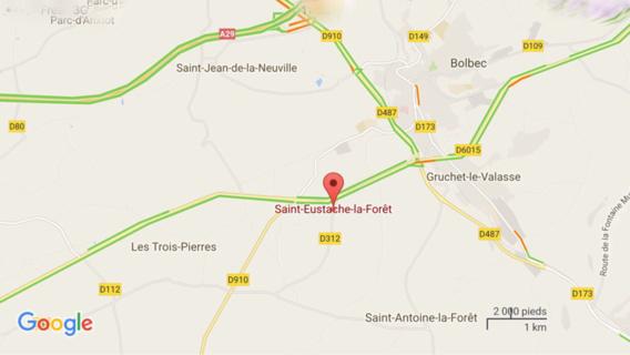 Un motard trouve la mort dans un face-à-face entre Bolbec et Saint-Eustache-la-Forêt