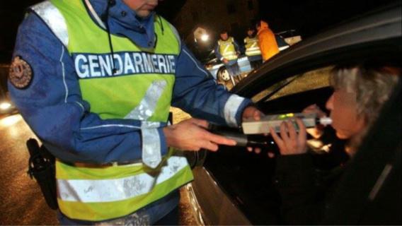 11 automobilistes ont été dépisté en état d'alcoolémie durant ces trois jours, dans l'Eure (illustration)