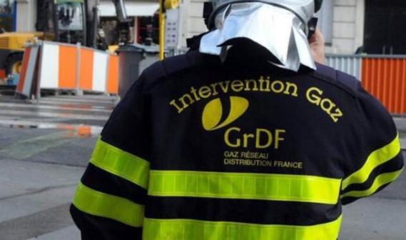 Les techniciens de GrDF ont coupé l'alimentation en gaz le temps de colmater la fuite (Illustration)