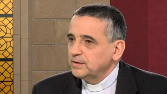 Dominique Lebrun, archevêque de Rouen, est revenu d'urgence de Cracovie (Photo@Youtube)