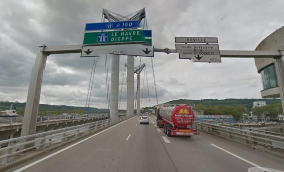 Travaux de nuit : la circulation sur le pont Flaubert, à Rouen, déviée du 1er au 5 août