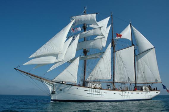 Le Marité est aussi le plus grand voilier en bois du patrimoine maritime français