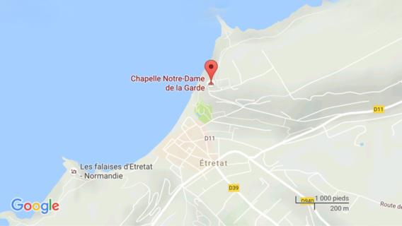 Seine-Maritime : le cadavre d'un homme découvert ce matin au pied d'une falaise à Etretat