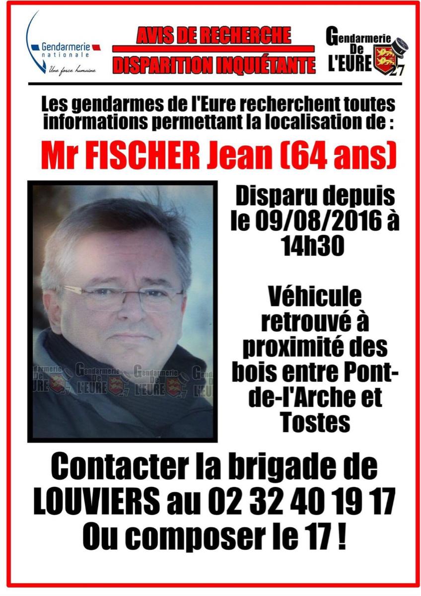 L'appel à témoin diffusé sur la page Facebook de la gendarmerie de l'Eure