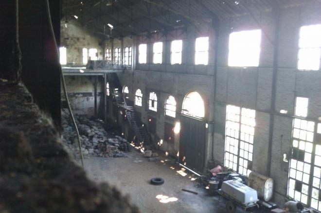 Les bâtiments de l'ancienne sucrerie de Nointot (Photo@frp76)
