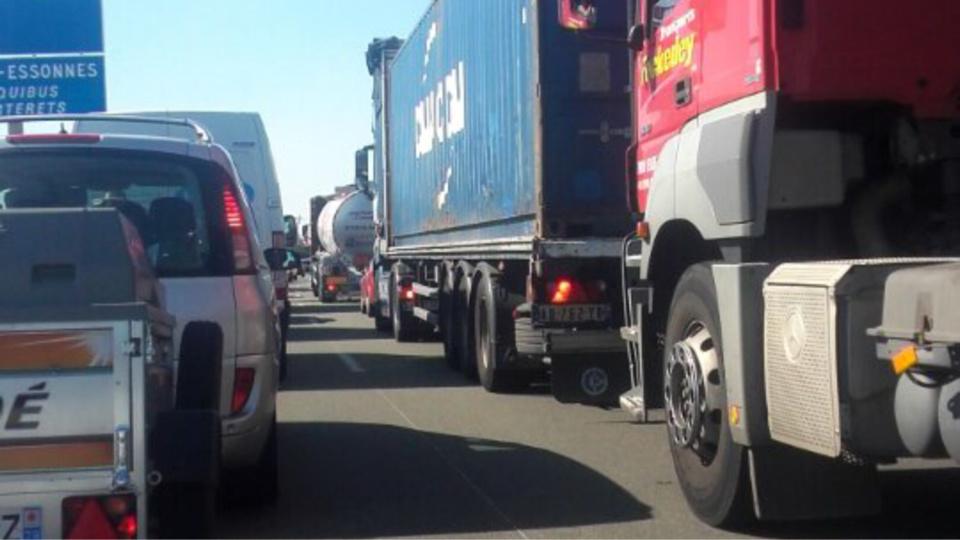 #InfoRoute : 750 km de bouchons vers 13 heures sur la route des retours