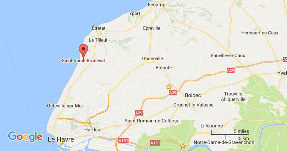Deux personnes âgées sauvées de la noyade par deux sapeurs-pompiers à Saint-Jouin-Bruneval