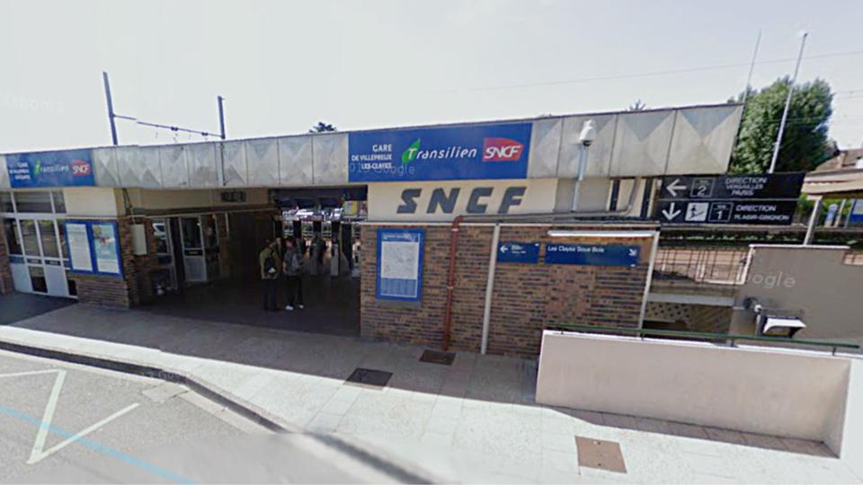 Les deux vols avec violence ont été commis dans l'enceinte de la gare (illustration@Google Maps)
