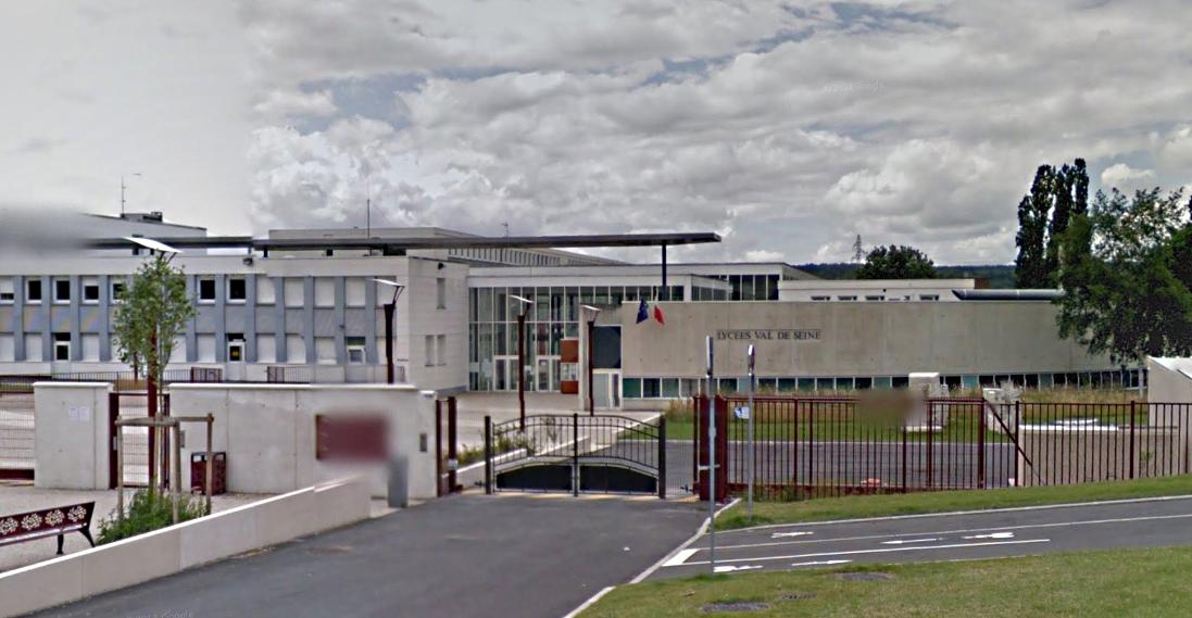 Le lycée Val de Seine à Grand-Quevilly (Illustration@Google Maps)