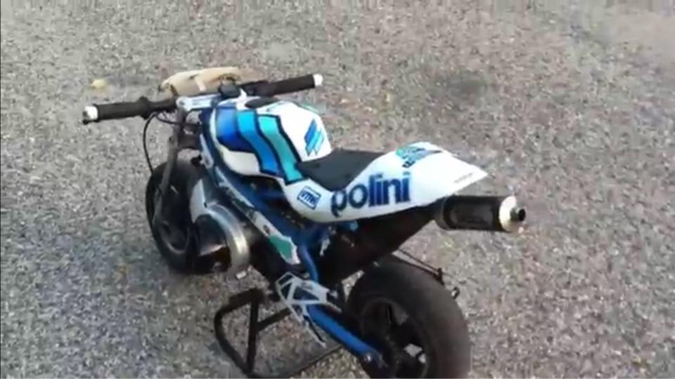 Trois des quatre motos Polini volées chez Normandie Karting  ont été retrouvées lors de la perquisition au domicile des deux suspects (photo d'illustration)