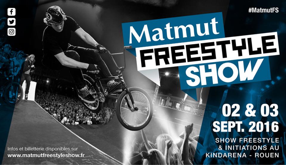 1ère édition du Matmut Freestyle Show : les sports extrêmes s'installent à Rouen ce samedi