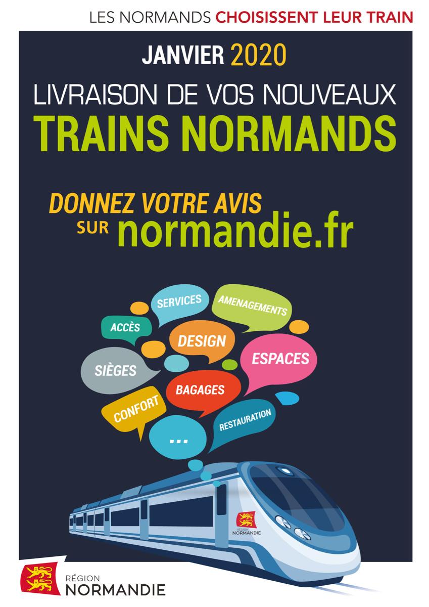 Enquête publique : les Normands choisissent leur train