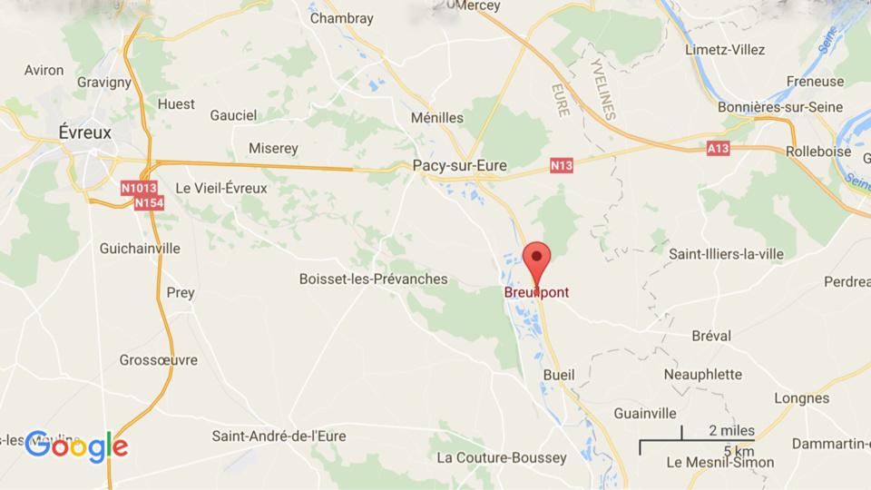 Une femme tuée par un train ce soir sur la ligne Paris - Caen, à Breuilpont, près de Pacy-sur-Eure