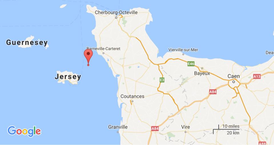 Normandie : opération d'assistance à des plaisanciers échoués sur l'archipel des Ecréhou