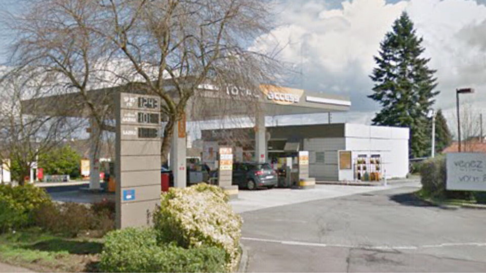Saint-Étienne-du-Rouvray : il braque la station Total avec un cutter et s'enfuit avec 600€