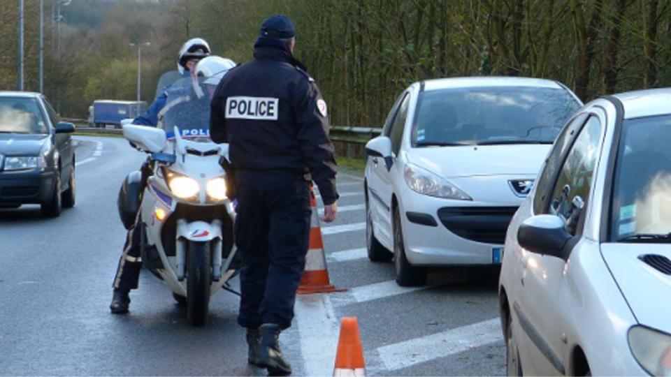 110 conducteurs ont été contrôlés en trois heures de temps (Illustration@DDSP)