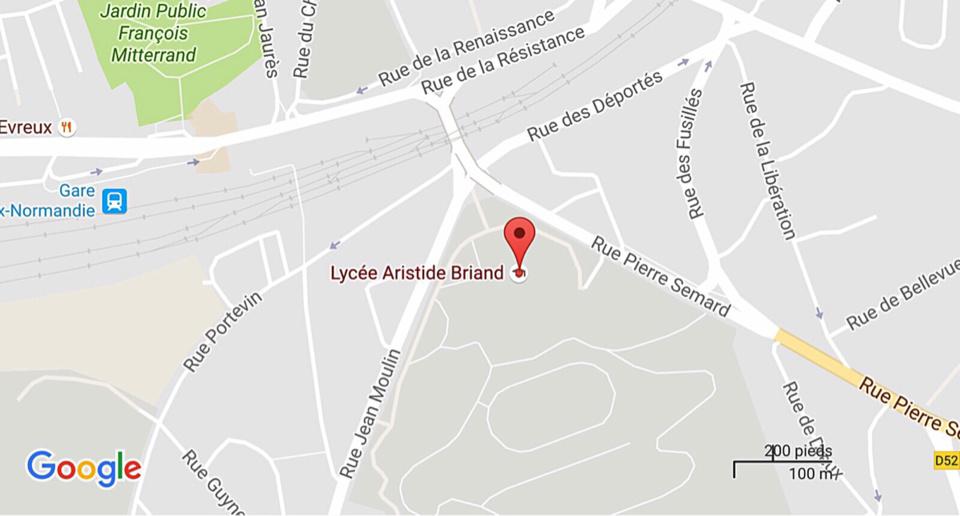 Évreux : une élève et sa soeur interpellées pour un vol et des violences au lycée Aristide-Briand