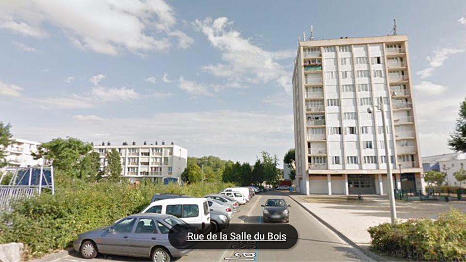 L'incendie s'est déclaré au 5ème étage d'un immeuble qui en compte 9 dans un quartier situé au nord de la ville (illustration@Google Maps)