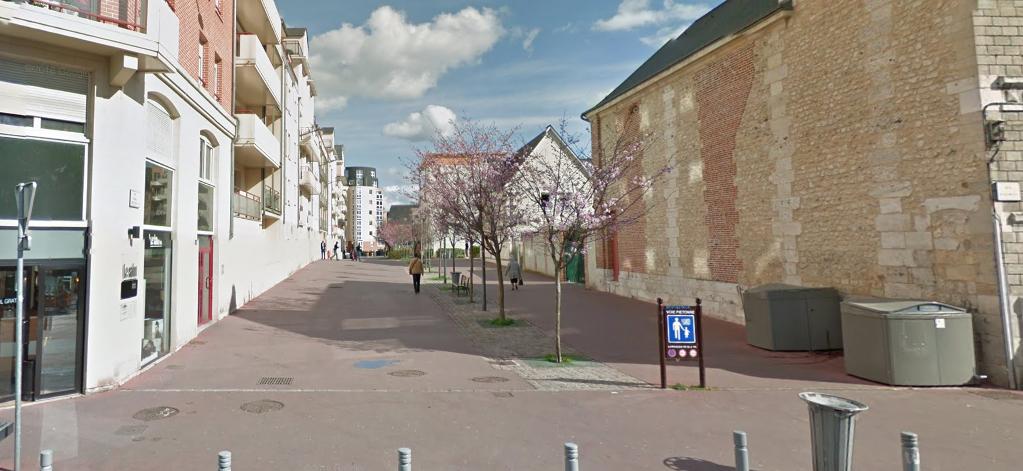 La victime a été découverte grièvement blessée dans la rue Pierre Mac Orlan (Illustration@Google Maps)