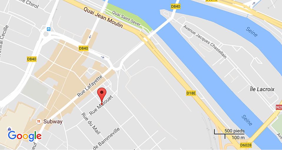 Rouen : 36 personnes évacuées rue Malouet à cause d'une odeur de gaz