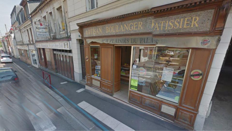 L'origine du feu qui a détruit la boulangerie-pâtisserie est indéterminée dans l'immédiat (illustration@Google Maps)