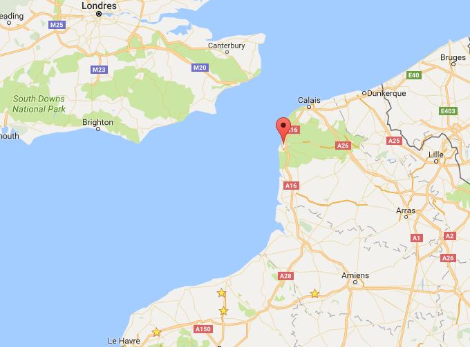 Quatre migrants sur un canot de fortune secourus au large de Boulogne-sur-Mer