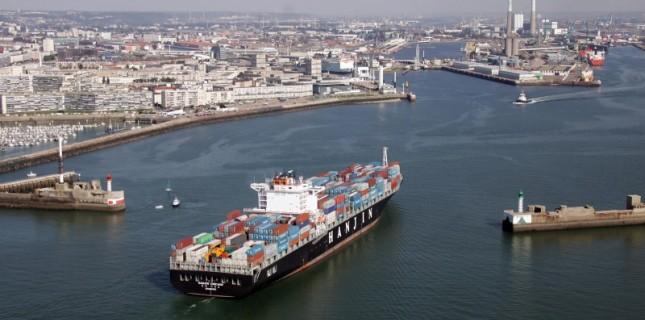 La zone industrielle et portuaire du Havre compte 16 établissements classés SEVESO (Photo@Le Havre.fr)