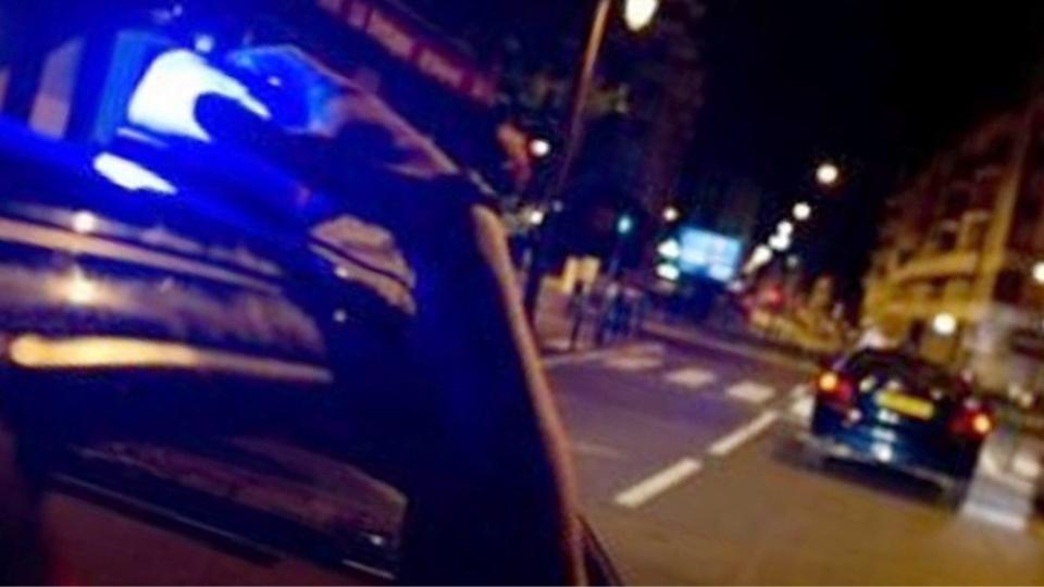 Le chauffard a donné du fil à retordre aux forces de l'ordre lancées à sa poursuite à trois heures du matin (illustration)
