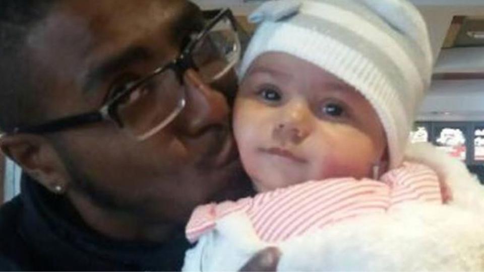 Photo de Djenah et son père publiée ce soir par le Ministère de la Justice dans le cadre du dispositif Alerte enlèvement