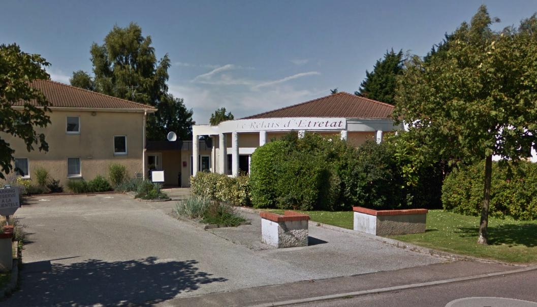 L'hôtel-restaurant Le relais d'Etretat, rue du Maréchal Joffre à Bolbec (Illustration@Google Maps)