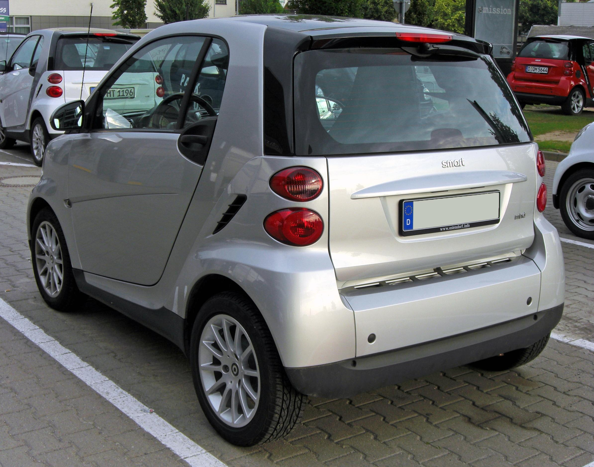 La Smart Fortwo II (Photo@Wikimedia Commons)