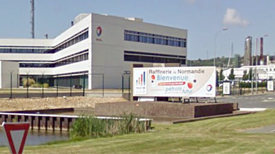 La raffinerie Total à Gonfreville-l'Orcher ( illustration)